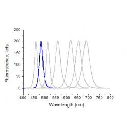 Perovskite Quantum Dots, 480 ± 15 nm